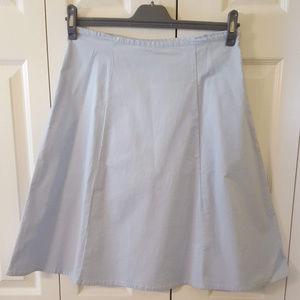 GAP Cotton A-Line Blue Skirt  0010